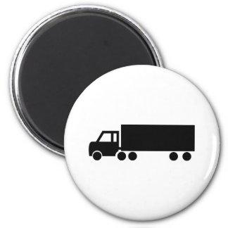 black truck icons magnet