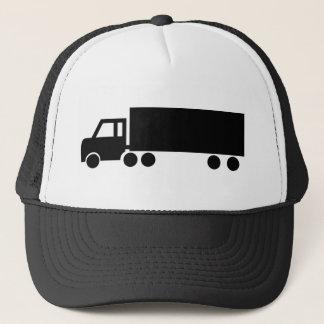 black truck icons trucker hat