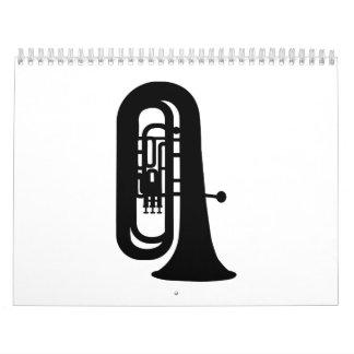 Black Tuba Calendar