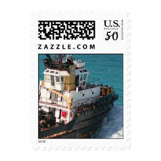 Black Tug stamp