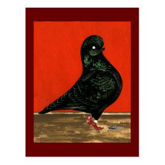 Black Tumbler Watercolor Postcard