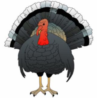 Black Turkey Acrylic Cut Outs