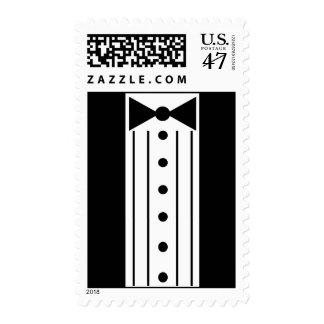 Black Tux Postage