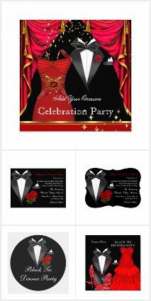 Black Tuxedo Bow Tie Dinner Party Formal