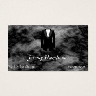 Black Tuxedo Business Card