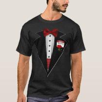 Black Tuxedo Formal Fun T-Shirt