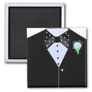 Black Tuxedo magnet