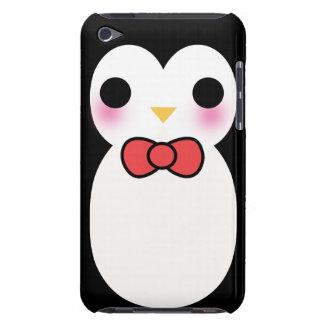 Black Tuxedo Penguin Barely There iPod Case