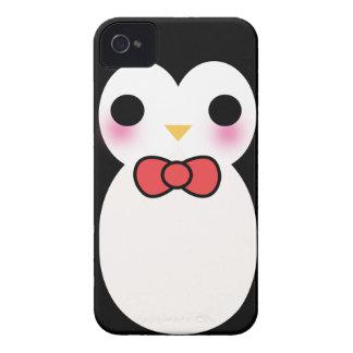 Black Tuxedo Penguin Case-Mate iPhone 4 Case