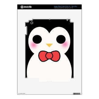 Black Tuxedo Penguin iPad 3 Decals