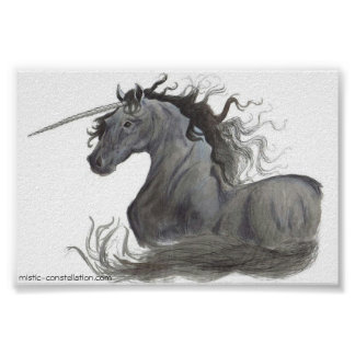 Black Unicorn (Poster) Poster