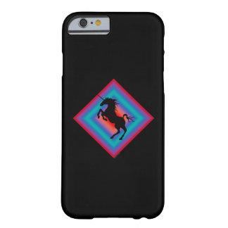 Black Unicorn Shield iPhone 6 case