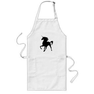 Black Unicorn Silhouette Apron