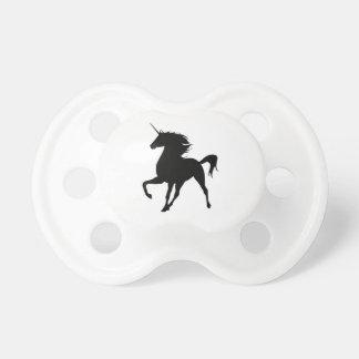 Black Unicorn Silhouette Pacifier BooginHead Pacifier