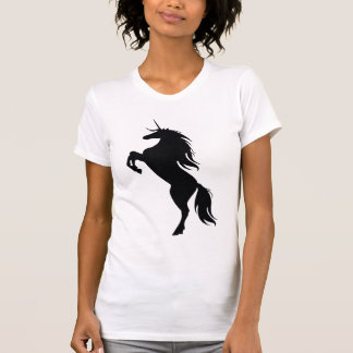 Black Unicorn Silhouette Shirt