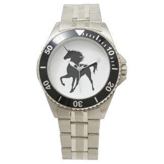 Black Unicorn Silhouette Watch