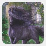 Black Unicorn Sticker