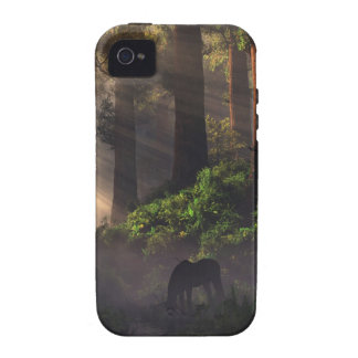 Black Unicorn Tough Case (iPhone 4) Case-Mate iPhone 4 Case