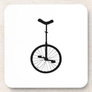 Black Unicycle Coaster