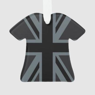 Black Union Jack British Flag Design Customize it