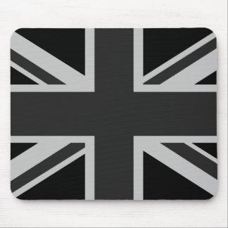 Black Union Jack Mousepad
