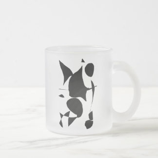 Black Universe Space Energy Thoughts 10 Oz Frosted Glass Coffee Mug