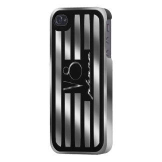 Black Valve Cover iPhone V8 Case