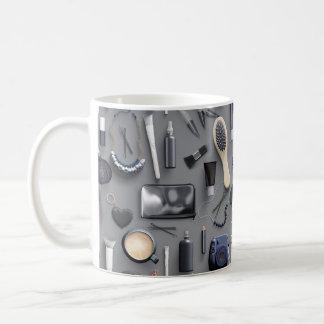 Black Vanity Table Coffee Mug