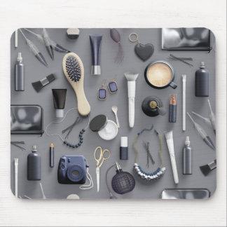 Black Vanity Table Mouse Pad