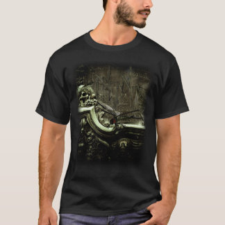 Black Veined Wings front T-Shirt
