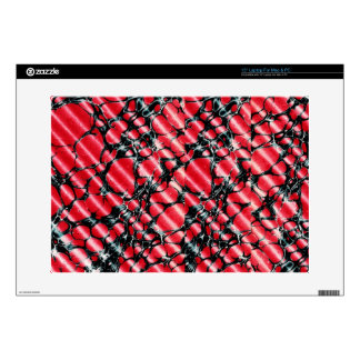 Black Veins 15 laptop skin
