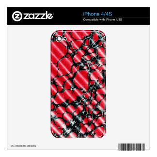 Black Veins iphone 4 4S skin Skins For The iPhone 4