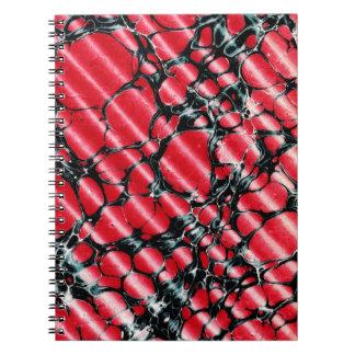 Black Veins nnotebook Note Book