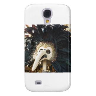 Black Venetian Mask Tee Samsung Galaxy S4 Covers