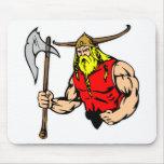 Black Viking Mouse Pad