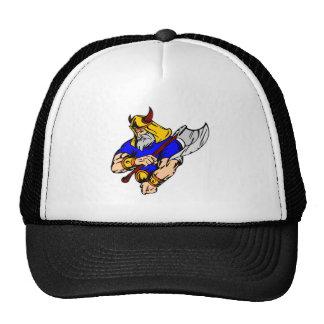 Black Viking Praying Trucker Hat