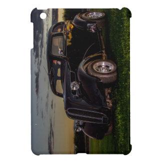 Black Vintage Car  iPad Mini Glossy Finish Case Cover For The iPad Mini