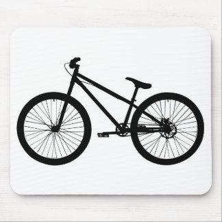 Black Vintage Mountain Bike Mousepad