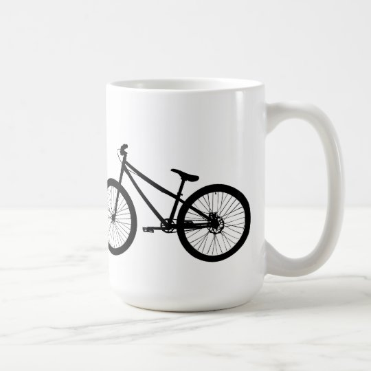 Black Vintage Mountain Bike Mug
