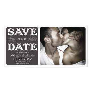 BLACK VINTAGE  | SAVE THE DATE ANNOUNCEMENT