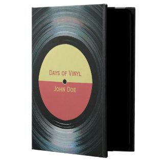 Black Vinyl Record With Label Ipad Air Case at Zazzle
