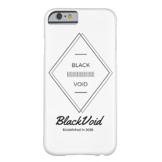 BLACK VOID SOLID PHONE CASE