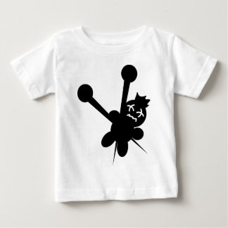 black voodoo doll needles torture baby T-Shirt