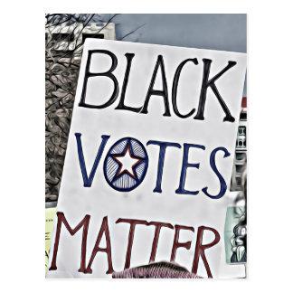 Black Votes Matter Postcard