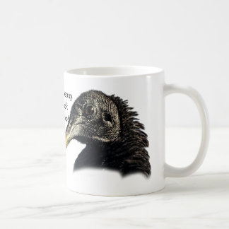 Black Vulture Buzzard Customizable Coffee Mug