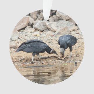 Black Vulture Ornament