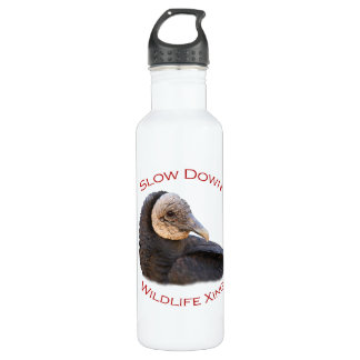 black vulture 24oz water bottle