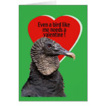 Black Vulture Valentine Card