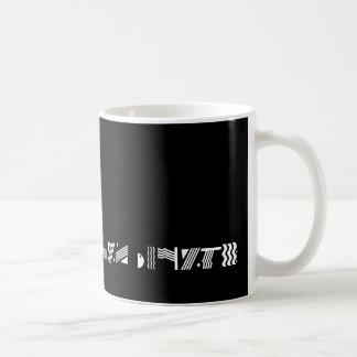 Black w/Lilac Border Mug - Customized