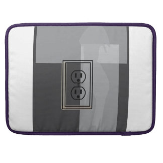 Black wall socket sleeve! sleeves for MacBooks